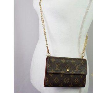 Louis Vuitton Porte Papier Etui Wallet Crossbody
